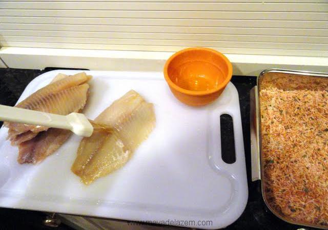 طرز تهیه ماهی تیلاپیا با پنیر پارمسان