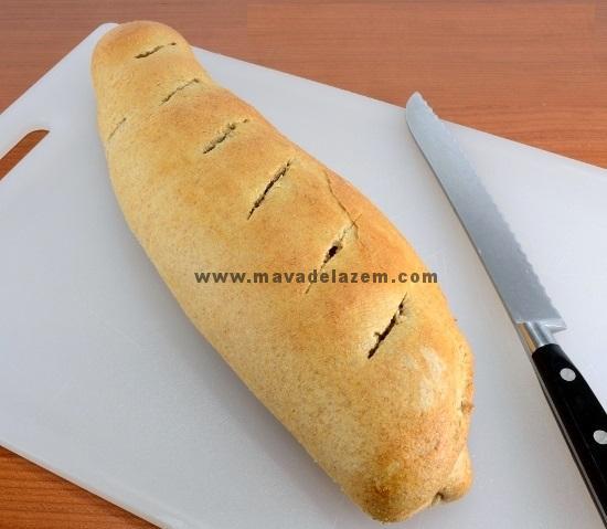 نان فرانسوی سیر دار